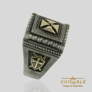 knights-templar-sterling-silver-gold-masonic-rings-freemason-cross-ring-10