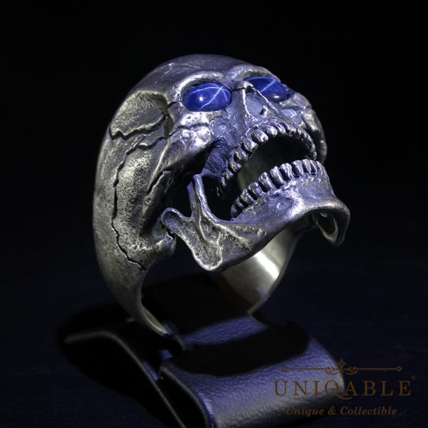 skull-sterling-silver-biker-sapphire-ring-custom-harley-davidson-masonic-rock-heavy-metal-12