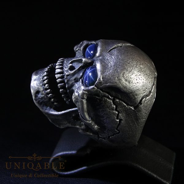 skull-sterling-silver-biker-sapphire-ring-custom-harley-davidson-masonic-rock-heavy-metal-5