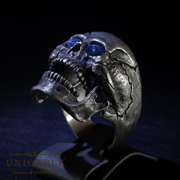 skull-sterling-silver-biker-sapphire-ring-custom-harley-davidson-masonic-rock-heavy-metal-7