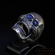 skull-sterling-silver-biker-sapphire-ring-custom-harley-davidson-masonic-rock-heavy-metal-8