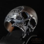 sterling-silver-biker-skull-ring-custom-made-harley-davidson-freemason-3