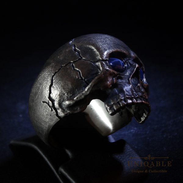 sterling-silver-biker-skull-ring-custom-made-harley-davidson-freemason-gems-11