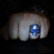 sterling-silver-biker-skull-ring-custom-made-harley-davidson-freemason-gems-2