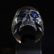 sterling-silver-biker-skull-ring-custom-made-harley-davidson-freemason-gems-4