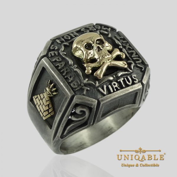sterling-silver-gold-skull-mason-masonic-freemason-freemasonry-ring-1