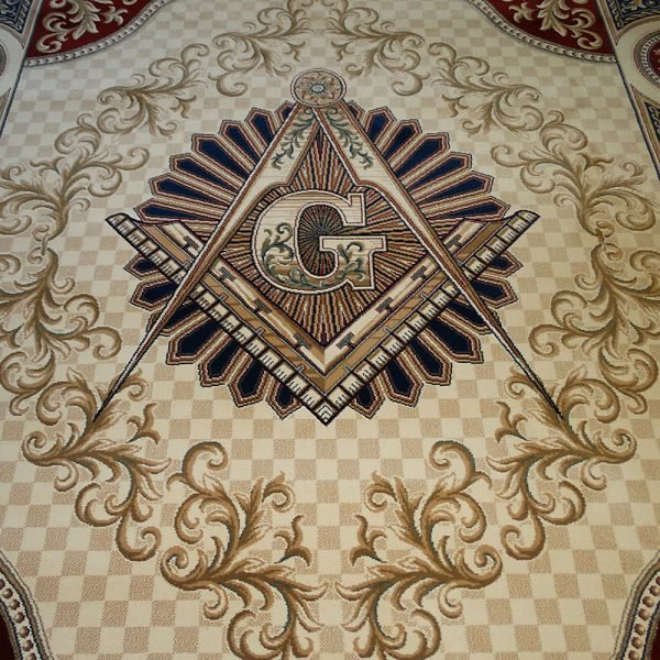 Masonic Freemasonry Knights Templar Square and Compass Area Rug Ring Apron 6 1